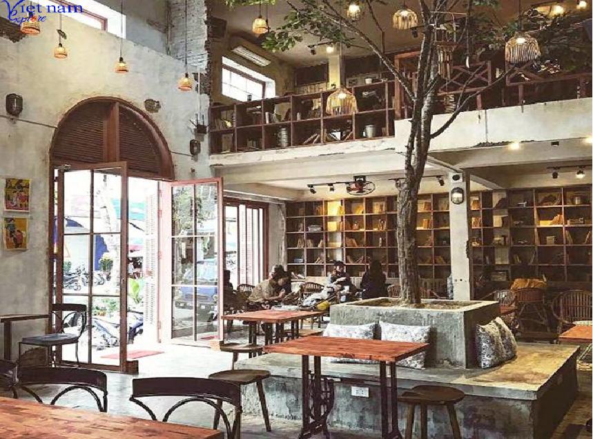 Quán cà phê siêu hoài cổ ở Đà Nẵng