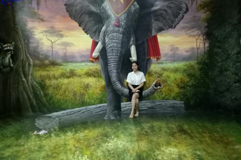 Bảo tàng tranh 3D Đà Nẵng - vén bức màn bí mật đằng sau những bức tranh