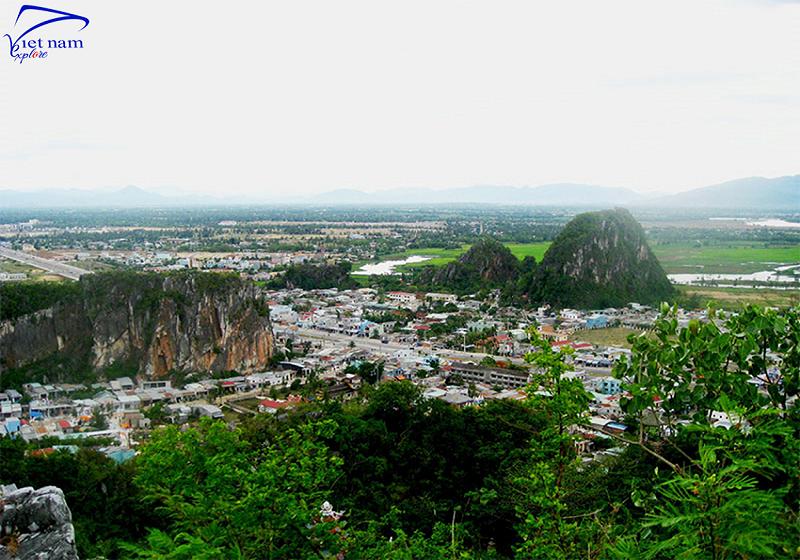 Ngắm toàn cảnh thành phố khi đi du lịch Đà Nẵng 2019 bằng phi cơ.