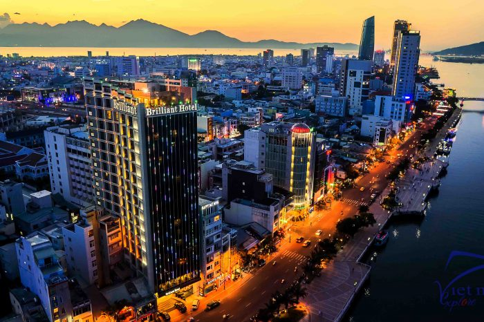 Voucher Brilliant Hotel 4 Sao Tại Đà Nẵng – Miễn Phí Xe Đón Sân Bay Về Khách Sạn